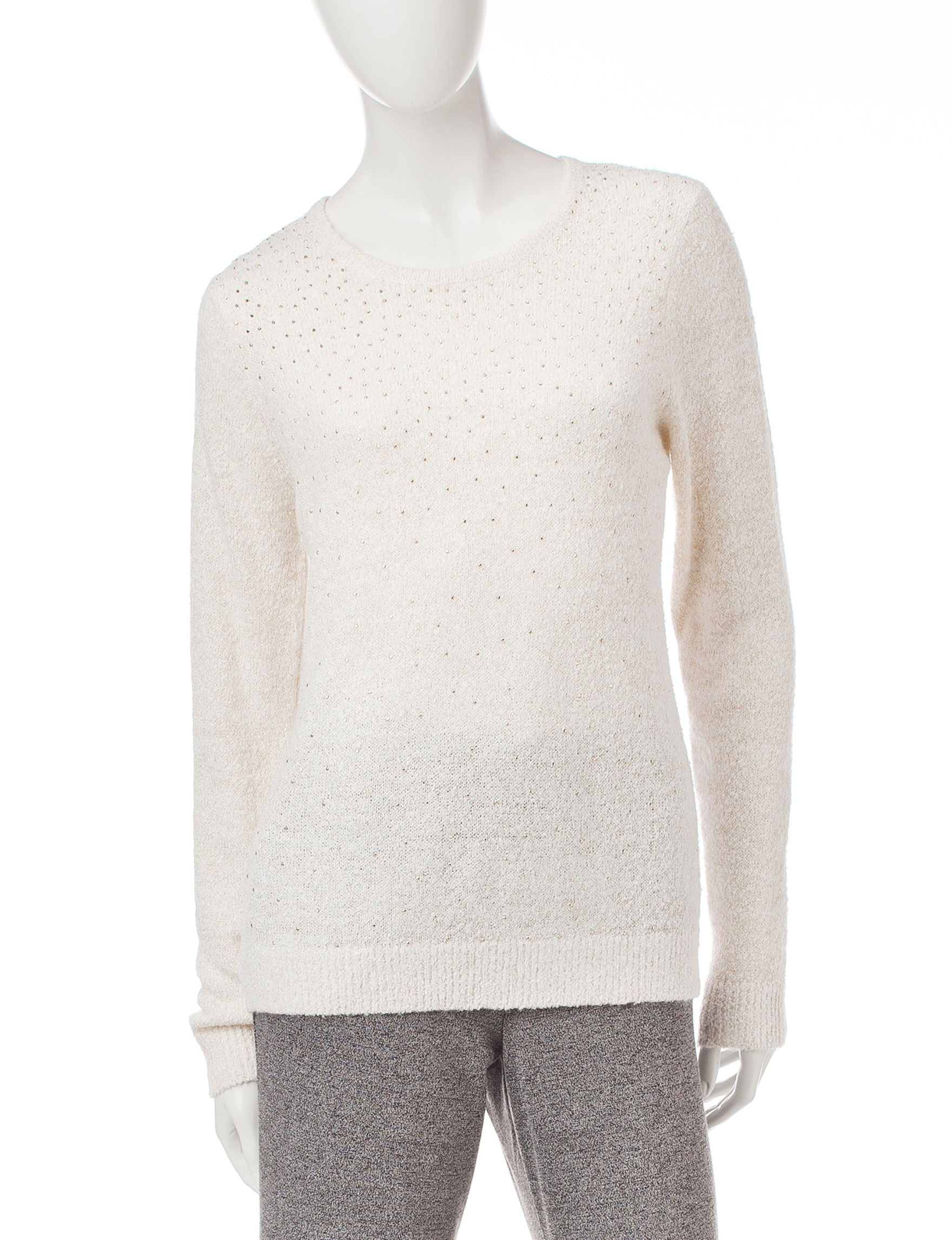 Cathy Daniels White Sweaters