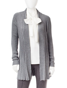 NY Collection Grey Cardigans Sweaters