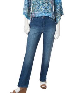 Gloria Vanderbilt Petite-size Amanda Embroidered Jeans