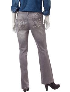 Earl Jean Petite Slim Bootcut Jeans