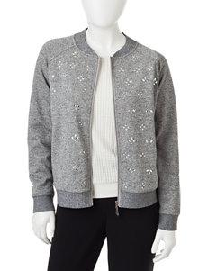Cathy Daniels Grey Lightweight Jackets & Blazers