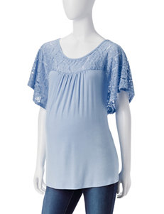 Three Season Maternity Light Blue