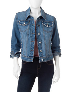 Earl Jean Medium Wash Denim Jackets