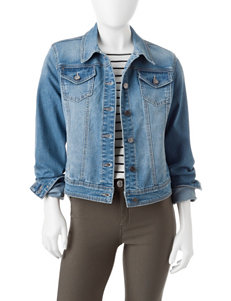 Earl Jean Petite Denim Jacket