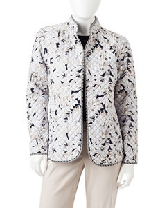 Rebecca Malone Petite Reversible Quilt Jacket