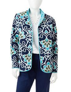 Alfred Dunner Petite Reversible Quilt Jacket