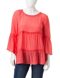 Spense Coral Shirts & Blouses