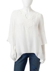 Spense Ivory Shirts & Blouses
