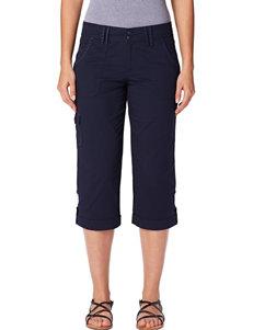 Gloria Vanderbilt Petite Embroidered Cargo Capri Pants