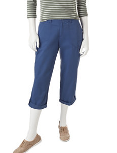 Lee Dark Blue Capris & Crops