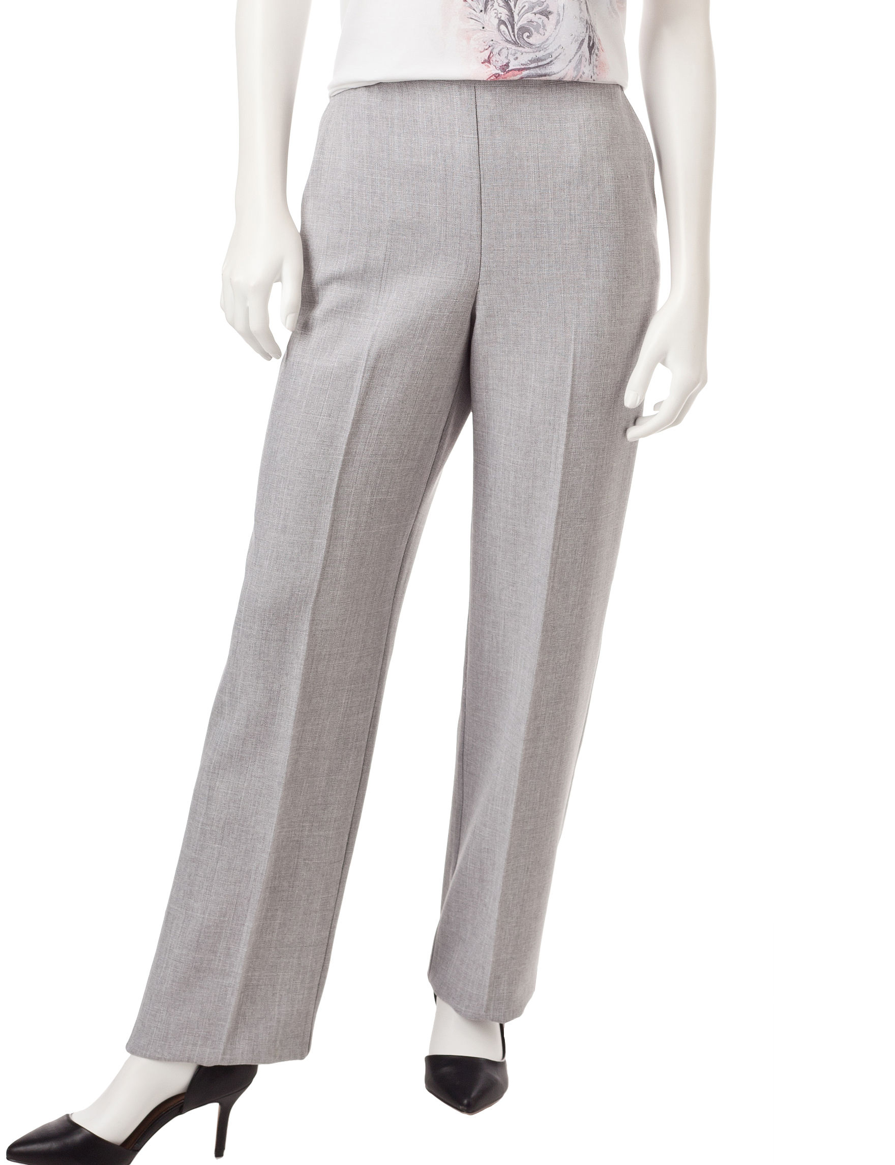 Alfred Dunner Grey Heather