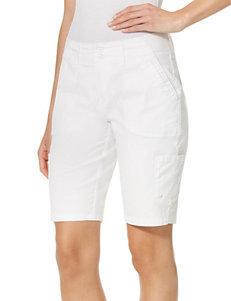 Gloria Vanderbilt White Denim Shorts