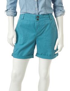 Gloria Vanderbilt Medium Blue Denim Shorts