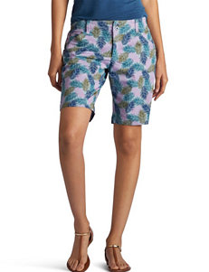 Lee Petite Essential Chino Bermuda Shorts