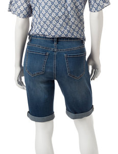 Earl Jean Medium Wash Denim Shorts