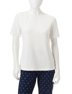 Rebecca Malone White Shirts & Blouses Tees & Tanks