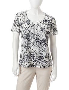 Rebecca Malone Black Shirts & Blouses Tees & Tanks