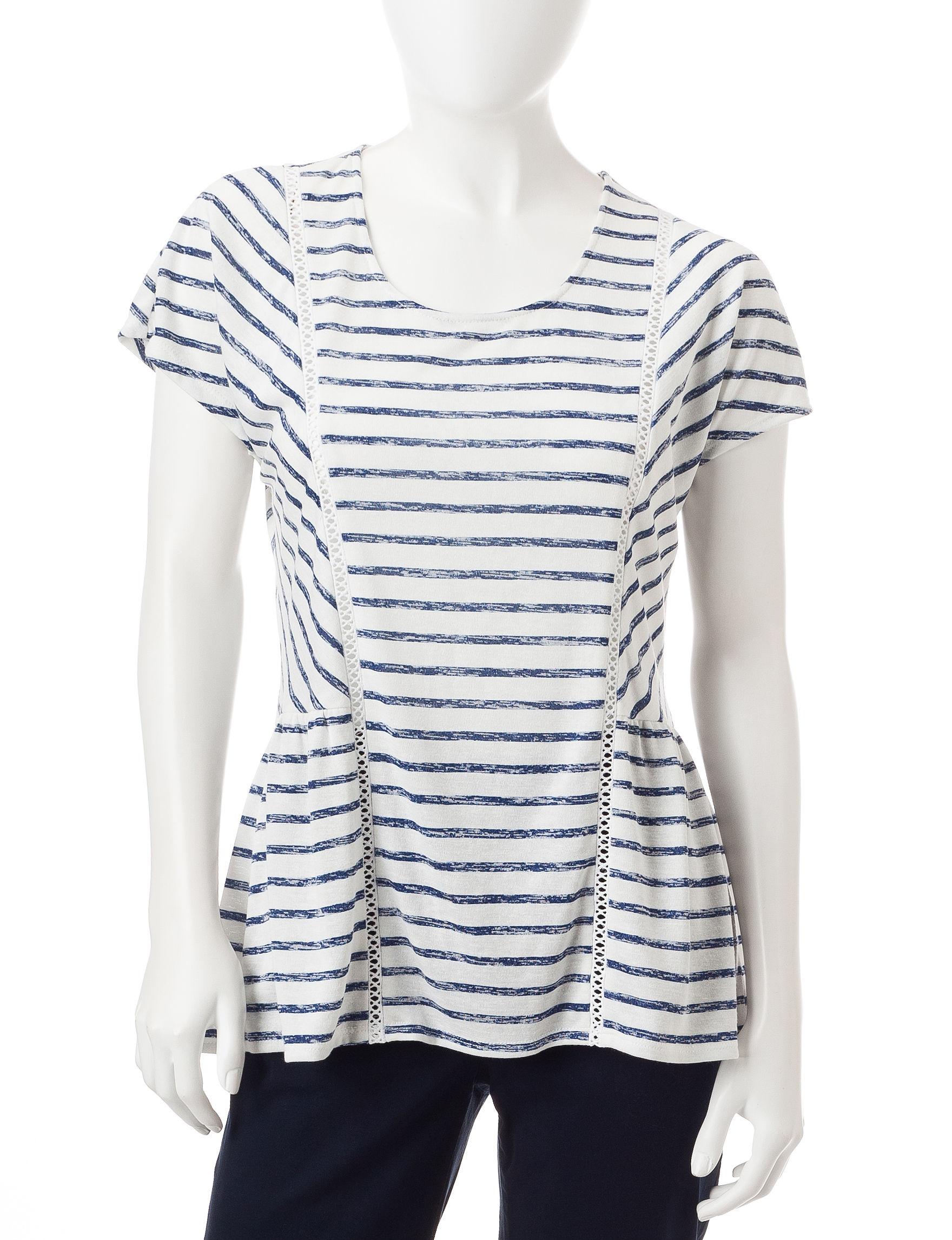 Hannah Ivory Shirts & Blouses