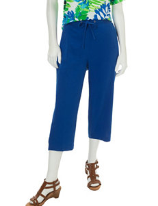 Cathy Daniels Royal Blue Capris & Crops