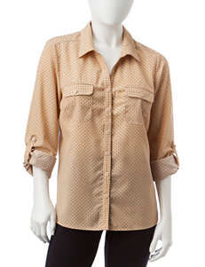 Notations Beige Shirts & Blouses