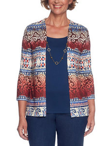 Alfred Dunner Multi Sweaters