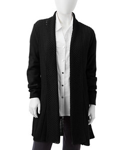 Rebecca Malone Petite Fan Back Knitted Cardigan