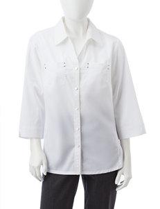 Rebecca Malone White Shirts & Blouses