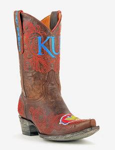 Kansas Jayhawks Short Gameday Boots – Ladies
