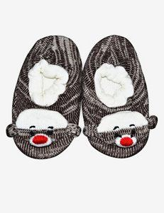 Muk Luks Monkey Slipper Socks – Toddlers
