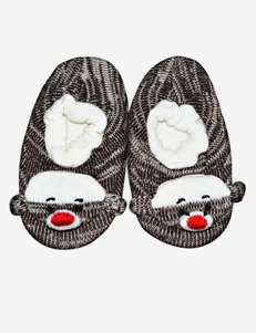 Muk Luks Monkey Slipper Socks – Kids & Ladies