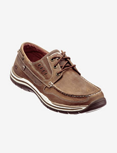 Skechers® Relaxed Fit Gembel Lace-Up Shoes – Men's