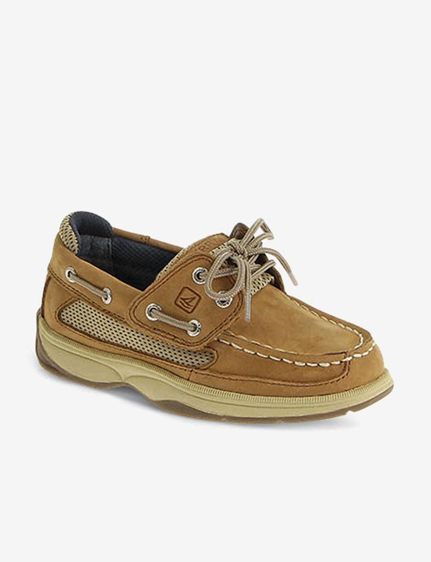Sperry Top-Sider children´s shoes are made for children who won´t let anything slow. All your child needs is a boat and a breeze and they are off, climbing the waves with both feet. Sperry Boy's, Authentic Original Boat Shoe Sahara 12 M. Roll over image.. Sperry Kids Baby-Boys' Authentic Original Slip-On (Toddler/Little Kid) · out of 5.