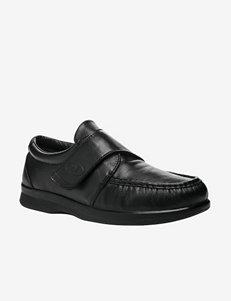 Propét Pucker Moc Strap Shoes – Men's