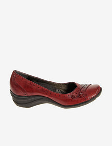 Hush Puppies Dark Red