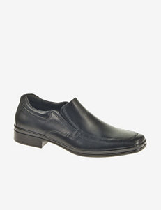 Hush Puppies® Quatro Black Waterproof Slip-on Shoes – Men's