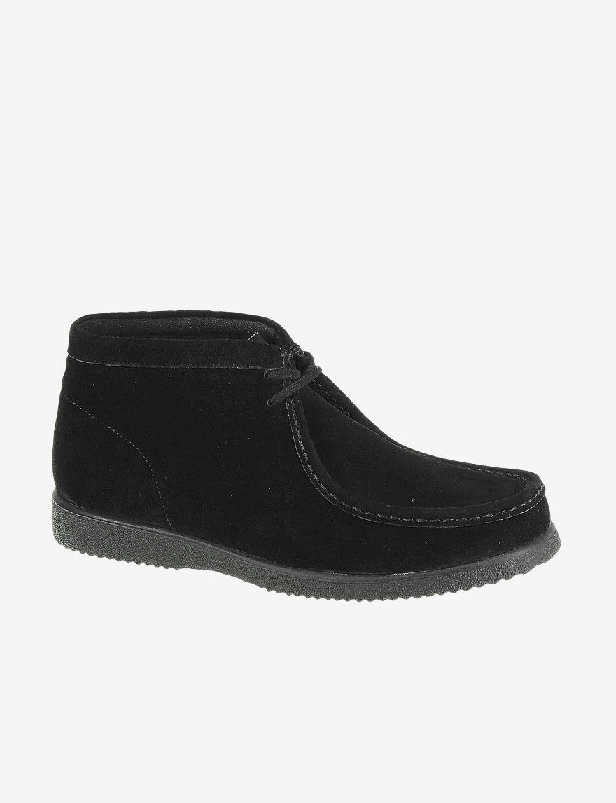 Hush Puppies Black Suede