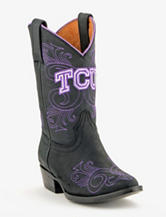 TCU Horned Frogs Black Someday by Gameday Boots – Toddlers & Girls 8.5-5