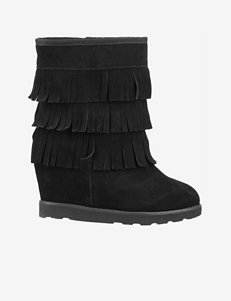 Lugz Black Wedge Boots