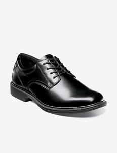 Nunn Bush® Baker Street Slip-on Plain Toe Oxfords – Men's