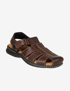 Dr. Scholl's Brown Fisherman Sandals