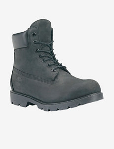 Timberland® Black 6 Inch Boots – Men's