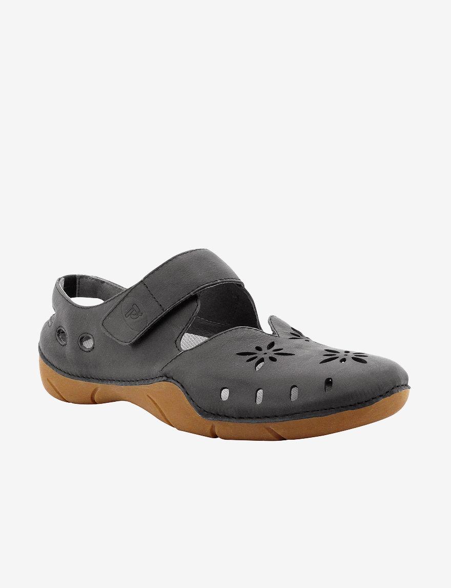 Propet Black Slipper Shoes
