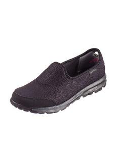 Skechers® GOwalk Leather Tech Casual Shoes – Ladies