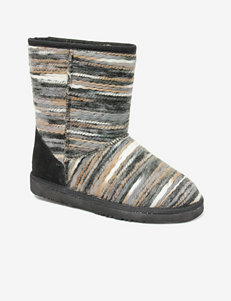 Lamo Juarez Mid Calf Tribal Print Boots