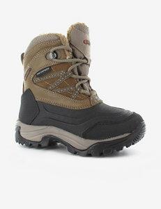 Hi-Tec Black Hiking Boots
