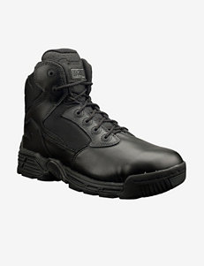 Magnum Stealth Force 6.0 Side Zip Round Toe Work Boots – Mens