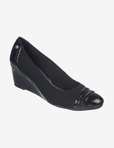 Lifestride Black Wedge Pumps