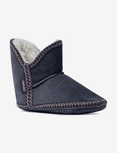 Muk Luks Black Slipper Boots & Booties