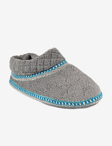 Muk Luks Purple Slipper Shoes