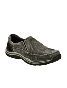 Skechers Avillo Relaxed Fit Slip-On Shoes – Mens